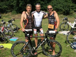 Triathlon der Master in Sassenberg am 02.08.2015