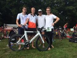 Triathlon der Landesliga in Riesenbeck am 31.08.2015
