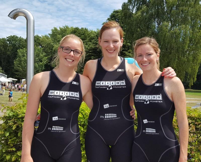 Erfolgreicher Auftrakt der zweiten Damenmannschaft in Harsewinkel