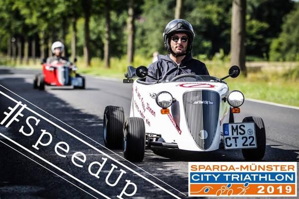 schnell sein bei der Anmeldung zum Sparda Münster City Triathlon