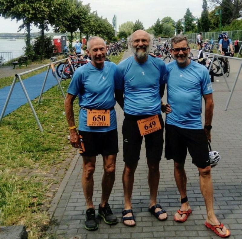 Die M60 erfolgreich vom Masters-Start in Bonn zurück