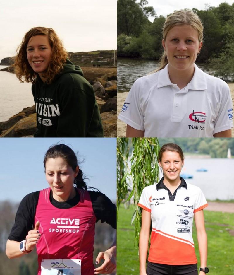 Vier Neuzugänge verstärken das Damenteam WEICON Tri Finish Münster in der 2. Bundesliga