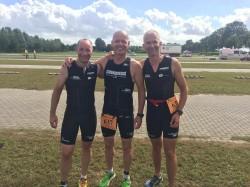 Unsere Master beim Nibelungen Triathlon in Xanten